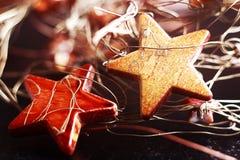 Adornamiento para las festividades de la Navidad Fotografía de archivo libre de regalías