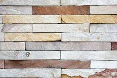 Adorne el fondo de la pared de piedra de la pizarra Imagen de archivo libre de regalías