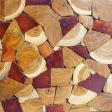 Adorne el fondo de madera de la textura Fotos de archivo