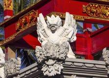 Adorne el templo hindú, Nusa Penida, Indonesia Fotos de archivo