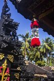 Adorne en el templo hindú, Nusa Penida, Indonesia Fotografía de archivo libre de regalías