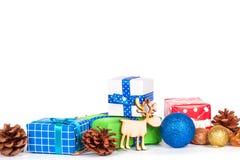 Adorne en la Navidad Imágenes de archivo libres de regalías