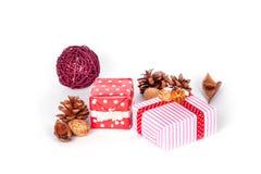 Adorne en la Navidad Imagen de archivo libre de regalías