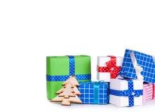 Adorne en la Navidad aislada Fotografía de archivo libre de regalías