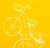Adorne la bicicleta. Fotografía de archivo
