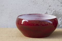 Adorne la cerámica hecha a mano Fotografía de archivo