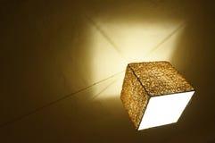 Adorne la lámpara del cuarto en Hatyai Fotos de archivo libres de regalías