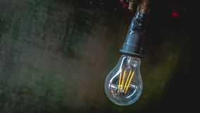 Adorne la luz de la lámpara de la vela del techo imagen de archivo libre de regalías