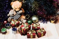 Adorne la Navidad Imagen de archivo libre de regalías