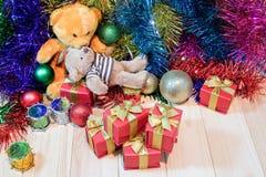 Adorne la Navidad Foto de archivo