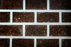 Adorne la pared con la piedra de la laterita Imagen de archivo libre de regalías