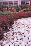 Adorne la piedra para el jardín en Chacheongsao Imagen de archivo
