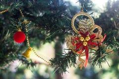 Adorne para el árbol de navidad Fotografía de archivo