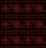 Adorne ruso tradicional, eslavo, bordado hecho punto arte étnico popular de Balkanian Imagen de archivo