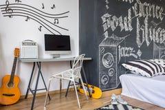 Adorne su sitio con un tema de la música Imagen de archivo