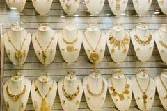 Adorno árabe del oro Foto de archivo libre de regalías