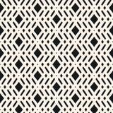 Adorno étnico tribal Ornamento con las líneas diagonales, Rhombus, malla, rejilla stock de ilustración