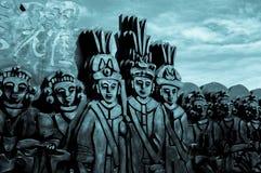 Adorno aborigen Fotografía de archivo libre de regalías