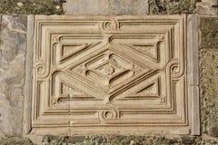 Adorno abstracto en estilo bizantino Imagenes de archivo