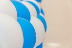 Adorno celebrador de los globos inflables Fotos de archivo