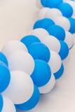Adorno celebrador de los globos inflables Foto de archivo