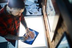 Adorno creativo de dibujo Fotos de archivo libres de regalías