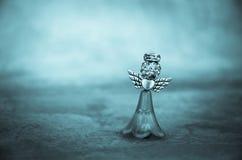 Adorno cristalino del ángel Fotografía de archivo