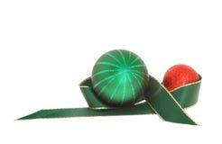 Adorno de la Navidad Imagen de archivo libre de regalías