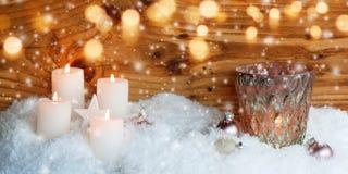 Adorno de la Navidad para una tarjeta de felicitación Imagen de archivo libre de regalías
