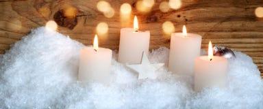 Adorno de la Navidad para una tarjeta de felicitación Foto de archivo libre de regalías