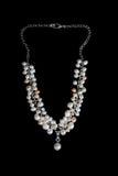 Adorno de la perla hecha a mano Imagenes de archivo