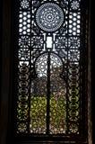 Adorno de la puerta del barqoq del sultán en Egipto Fotografía de archivo