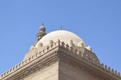 Adorno de la puerta del barqoq del sultán en Egipto Foto de archivo