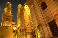 Adorno de la puerta del barqoq del sultán en Egipto fotografía de archivo libre de regalías