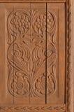 Adorno de talla de madera imagenes de archivo