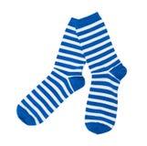 Adorno decorativo con los calcetines lindos Imágenes de archivo libres de regalías