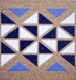 Adorno del azulejo Fotos de archivo