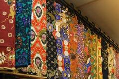 Adorno del batik Imagen de archivo libre de regalías