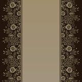 Adorno floral Imágenes de archivo libres de regalías