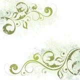 Adorno floral artístico ilustración del vector