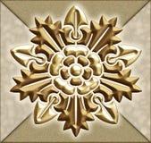 adorno floral de la vendimia Libre Illustration