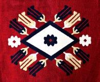 Adorno hermoso de la alfombra Imagenes de archivo