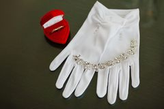 Adorno hermoso Wedding Fotos de archivo libres de regalías