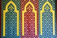 Adorno islámico del diseño del modelo, sobre la base del ornamento del otomano Fotografía de archivo libre de regalías