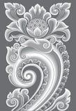 Adorno Majapahit stock de ilustración
