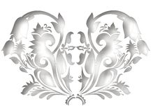 Adorno ornamental foto de archivo