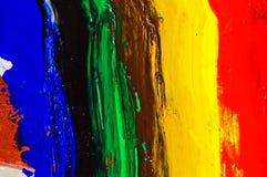 Adorno pintado, rasguñado de la textura de la pared. Foto de archivo libre de regalías
