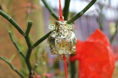 Adorno por Año Nuevo lunar chino Imagen de archivo