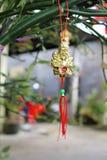 Adorno por Año Nuevo lunar chino Imágenes de archivo libres de regalías