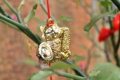 Adorno por Año Nuevo lunar chino Foto de archivo